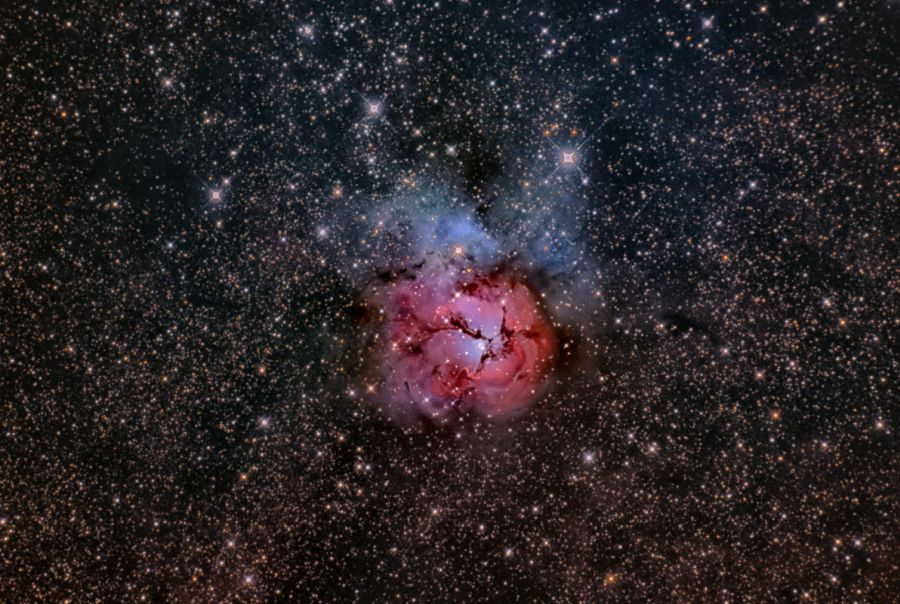 三裂星雲 Trifid Nebula