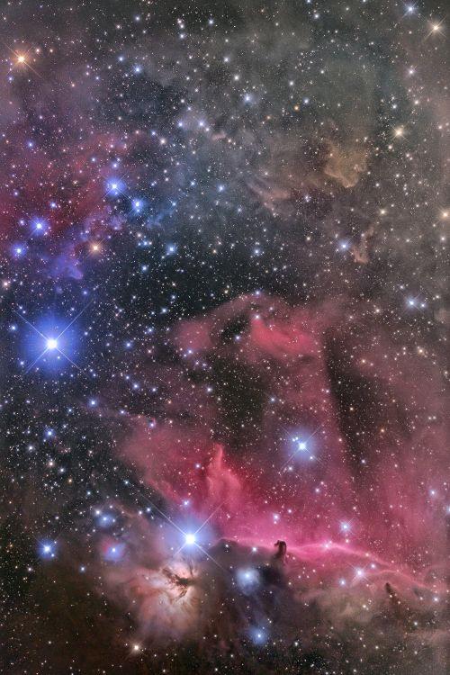 IC434/NGC2024(Horsehead Nebula/Flame Nebula)