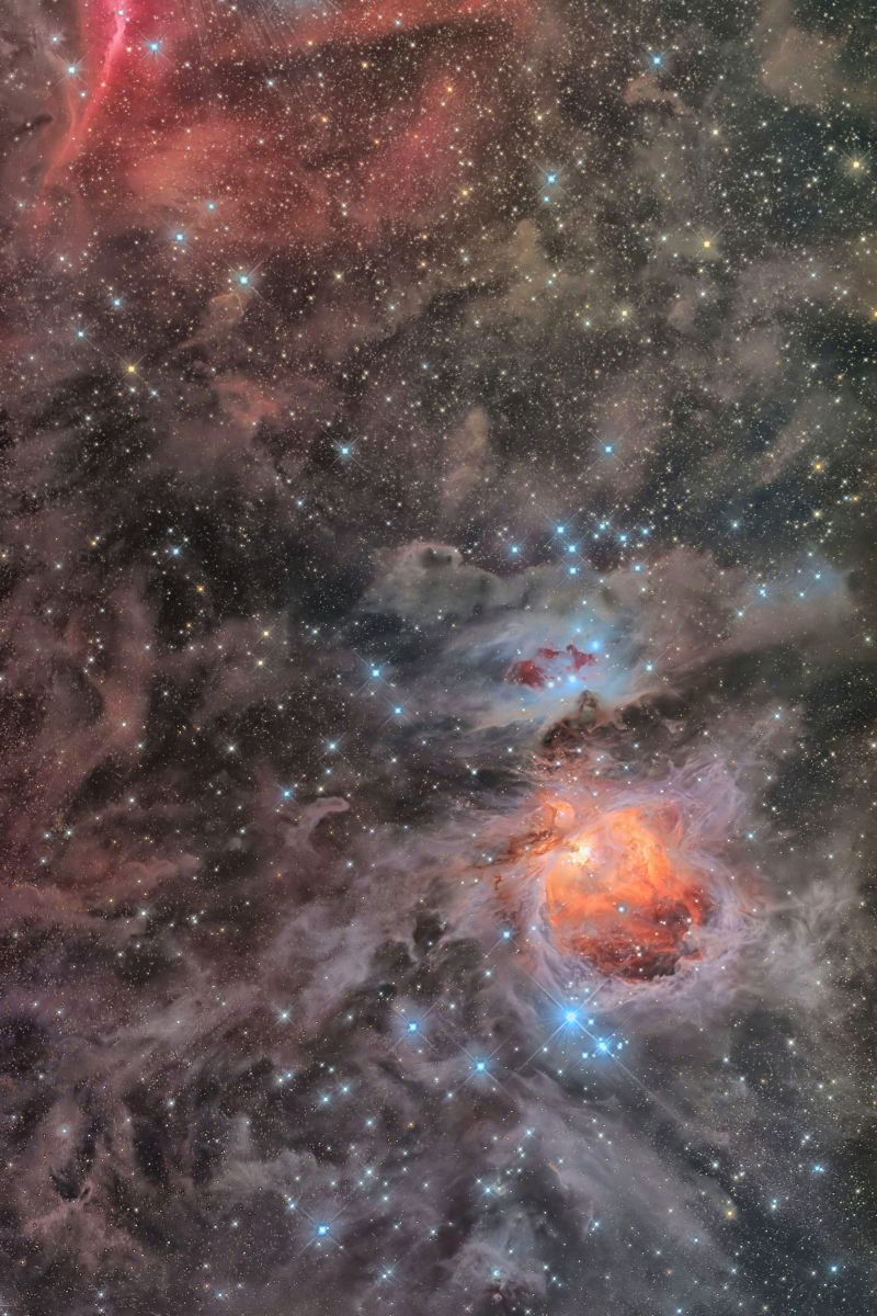 Great Orion Nebula(M42)Running Man Nebula(Sh2-279)