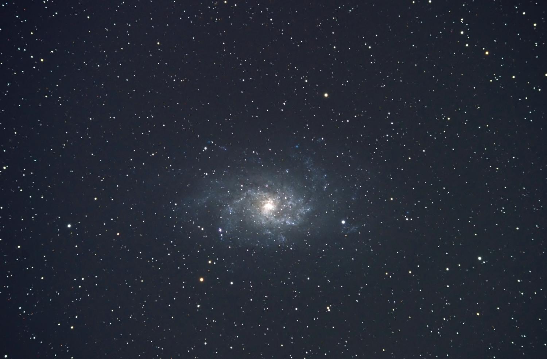 M33(NGC 598) さんかく座/銀河(Sc)