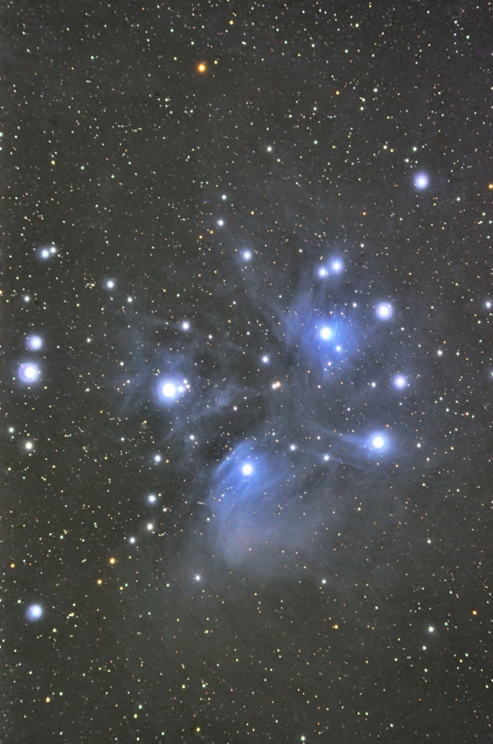 M45(Mel.22) おうし座/散開星団(c)