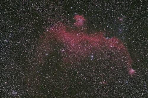 IC2177_Seagull Nebula_ワシ星雲_かもめ星雲_1024